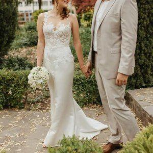 Pronovias Dranoe wedding dress Size 8 New with tag